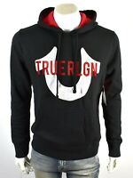 TRUE RELIGION Men's Horseshoe Logo Pullover Sweatshirt Hoodie - 102772