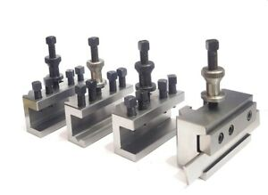 S2 / T2 Quick Change Tool Post Holders for Colchester, Harrison & Similar Lathes