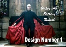 Christopher Lee hammer house of horror Personalised Large Birthday Card