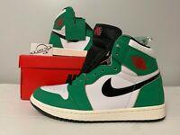 """Nike Air Jordan 1 Retro OG High """"Lucky Green"""" DB4612-300 Women's Size 7-12"""