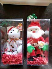 1998 Vintage Santa & Holiday Teddy Beanie Babies