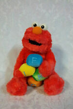 "Gund Musical Elmo Wind Up Sesame Street 11"" Plush Soft Toy Stuffed Animal"