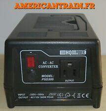Convertisseur de tension 110V 220V 300W