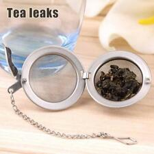 Stainless Steel Kettle Cup Infuser Strainer Mesh Tea Filter Spoon Locking Spice