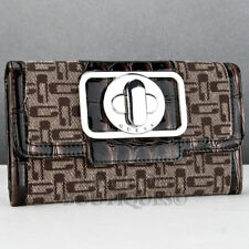 New Trend GuEsS Authentic Wallet Ladies ENCHANTED MOCHA Women Extraordinary