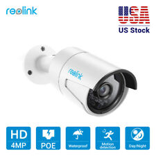 Reolink IP CCTV PoE Camera HD Security Cam 4MP 1440P Outdoor with Audio RLC-410