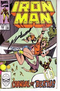 IRON MAN #253 (FN) 1990