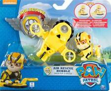 Brand New 2015 Nickelodeon/Spin Master PAW PATROL: Air Rescue RUBBLE & Badge 3+