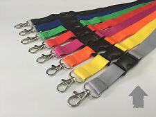 50x Schlüsselbänder Lanyard Schlüsselband mit . Wunschdruck / Wunschtext