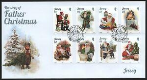 Jersey 2014 - Mi-Nr. 1874-1881 - FDC - Weihnachten / X-mas