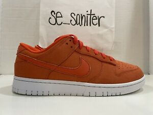 Nike Dunk Low By You 365 ID Orange White AH7979 992 Men's Size 9.5 NoLid