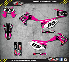 Honda CRF 230 F 2015 - 2017 Custom Graphic kit PINK DIGGER style decals