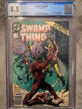 Swamp Thing #58 Cgc 8.5 VF+ DC Comics (1987) Alan Moore story