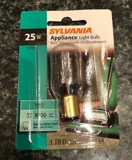 Sylvania 18321 Appliance Light Bulb 25W 120V T8 25T8DC/BL
