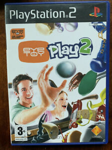 Eye Toy Play 2 Game PS2 for Sony PlayStation 2