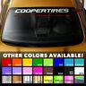 "COOPER TIRES COOPERTIRE Premium Windshield Banner Vinyl Decal Sticker 40x2.5"""