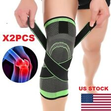2X3D Weaving Sport Pressurization Knee Pad Support Brace Injury Pressure Protect