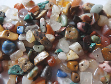 Loose Multi Natural Stone Chip Beads Small to Medium Sizes #A180 DNG