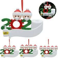 2020 Snow Family Santa Christmas Home Party Hanging Ornaments Decorations Xmas