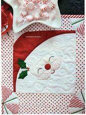 Peppermint Santa Quilt Pattern Pieced/Applique TL