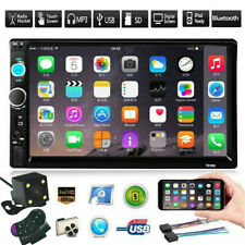New listing 7In Car Stereo Radio Hd Mp5 Player Touch Screen Bluetooth Radio 2Din w/ Camera