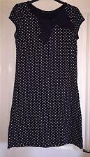 Next Spotty Bow Kleid, Größe 8-entzückend!