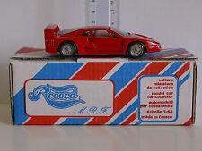 FERRARI F40 1987 - Mint In Box -RECORD MRF 1/43º- Made in France neuf en  boîte