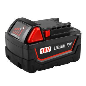 18V 3.0Ah 4.0Ah 5.0Ah 6.0Ah 9.0Ah Battery For Milwaukee M18 Electric Hand Drill