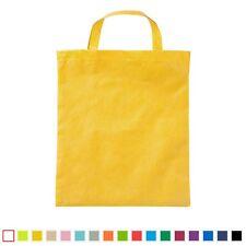 2 x Vlies Tasche Einkaufstasche Beutel Tragebeutel 38 x 42 PP-Tasche k. Henkel