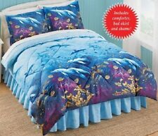Dolphins, Beach, Tropical, Nautical Full Comforter Set (4 Piece Bed In A Bag)