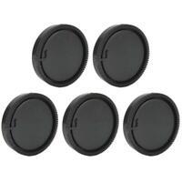 5PCS Plastic Rear Cap Protective Cover Fits for Leica LR Nikon Pentax Sony Canon