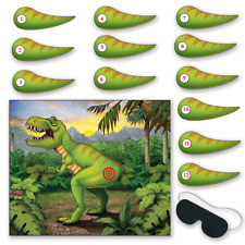 NEW PIN THE TAIL ON THE DINOSAUR GAME PARTY GAME (1)