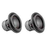 AudioPipe TXX-BDC4-12 Dual 4 Ohm 12 inch 2,200 W Car Subwoofer, Black (2 Pack)