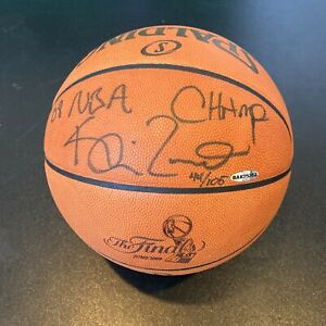 "Kevin Garnett ""2008 NBA Champ"" Signed Official Finals Game Basketball UDA COA"