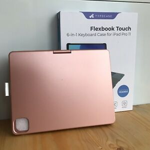 Pink Typecase Flexbook Touch 6 In 1 Keyboard Case For iPad Pro 11 NEW OPEN BOX