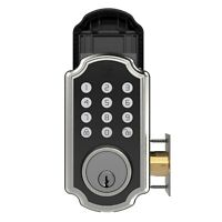 Turbolock TL117 Door Lock Keypad Smart Voice Prompts Digital Deadbolt w/App eKey