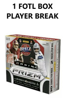 2019 Panini Prizm Football First Off The Line FOTL 1 Hobby Box Player Break #2