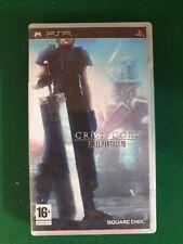 PSP GFinal Fantasy VII Crisis Core
