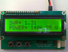SWR Power meter LCD indicator with protection - LDMOS mosfet or TUBE max 8000W