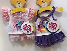NEW Build A Bear My Little Pony 2 Outfit Lot Halter Tutu Set & Skirt Set NEW