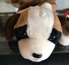 2 Ty Beanie Babies Butch the Bull Terrier & Bernie the Saint Bernard Dog Baby
