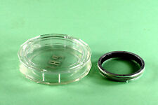 Bay II (2) Original Rolleiflex Filter - green - in off brand plastic case