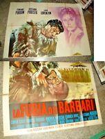Die Furia Der Barbaren Manifesto 4F Original 1960 R. Podesta' - Schößchen