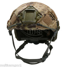 OPS/UR-TACTICAL HELMET COVER FOR OPS-CORE FAST HELMET IN KRYPTEK-HIGHLANDER-M/L