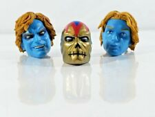 "Marvel Legends 6"" - [3x] ARCHANGEL HEAD PIECE lot - BAF figure part, unmasked"