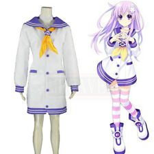Hyperdimension Neptunia Mk2 Nepgear Purple Sister Cosplay Costume