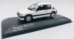 Minichamps 1/43 Peugeot 205 GTI White 1990 400112300
