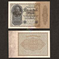 GERMANY 1,000 1000 Mark Reichsbanknote 1922 P-82 AU
