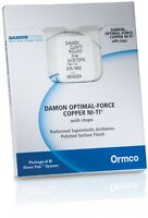 LIMITED Qty Ormco Damon Copper NITI size .014 CUNITI archwire Round with Stops