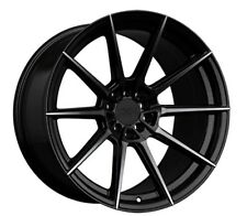 18x9.5 XXR 567 5x100/114.3 +38 Phantom Black Rims (Set of 4)